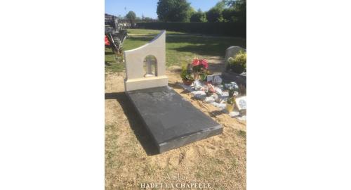 Création pierre tombale sur mesure Maine et Loire 49