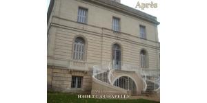Escalier château en pierre