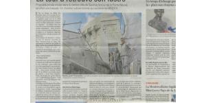 article rénovation tour de saumur
