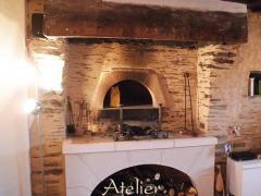 Création cheminée et restauration 49