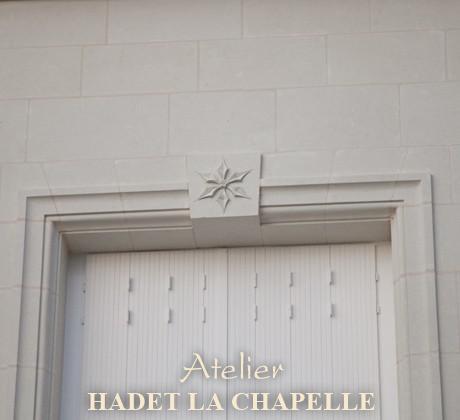 Détail ornementation fenêtre pierre