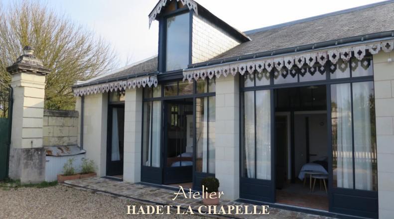 Hadet Chapelle transforme des chambres d'hôtes SaintHilaireSaint Florent (Saumur)