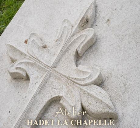 Décoration pierre tombale