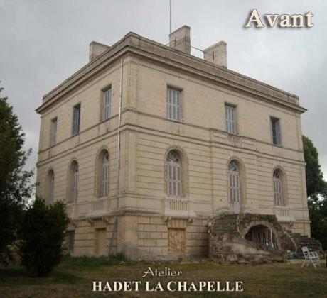 Restauration château Avant