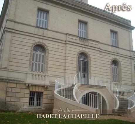 Restauration château Après