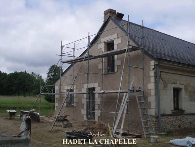 Rénovation de Longères Maine et Loire