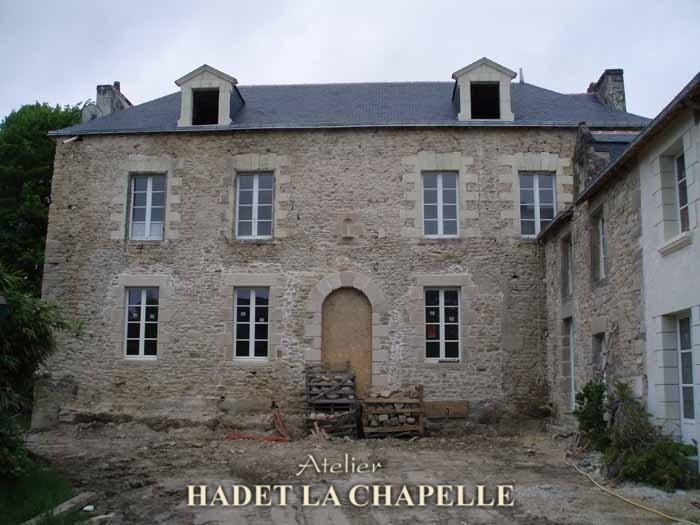 Restauration belle demeure Angers
