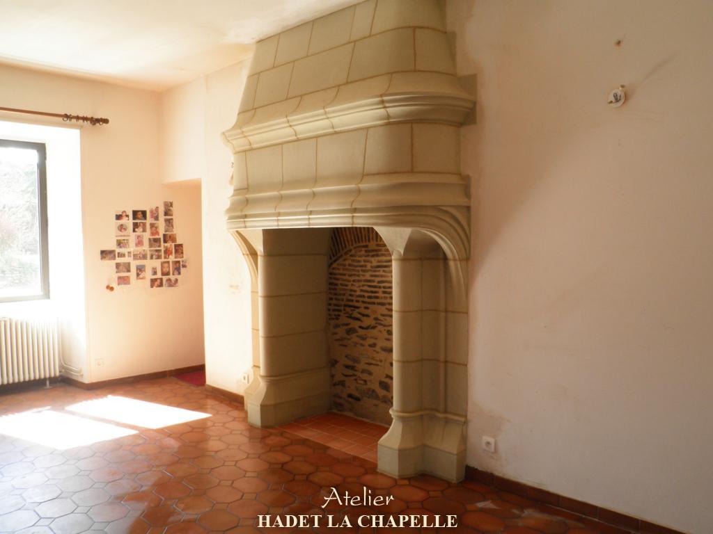 Cheminée foyer ouvert Nantes