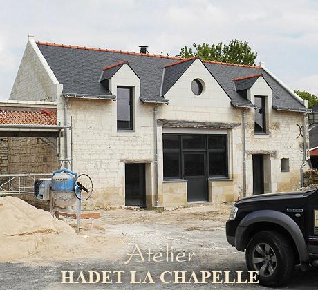 Création demeures Saumur