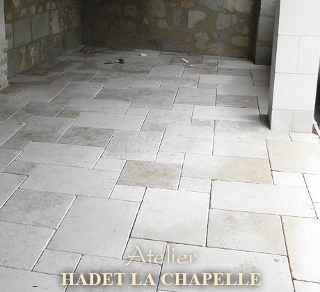 Dallage Escalier en pierre