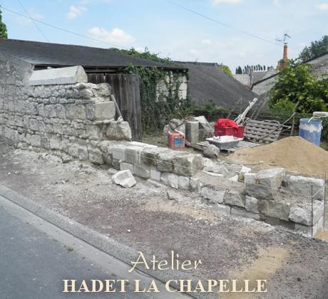 Construction mur Angers