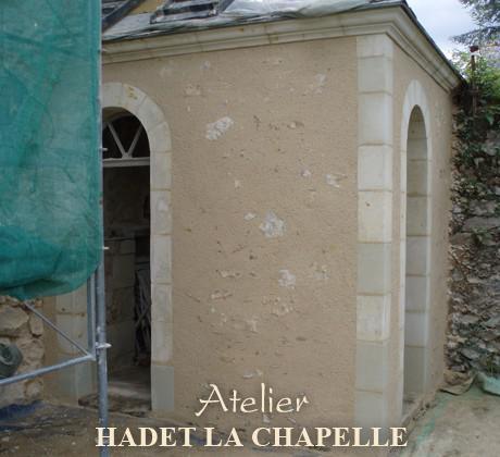 Mur rénovation Saumur
