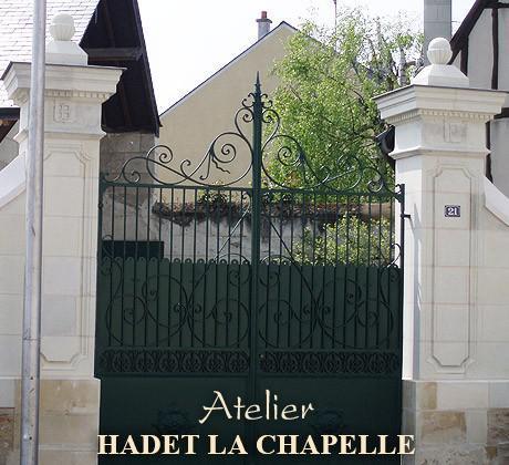 Portail en pierre Angers