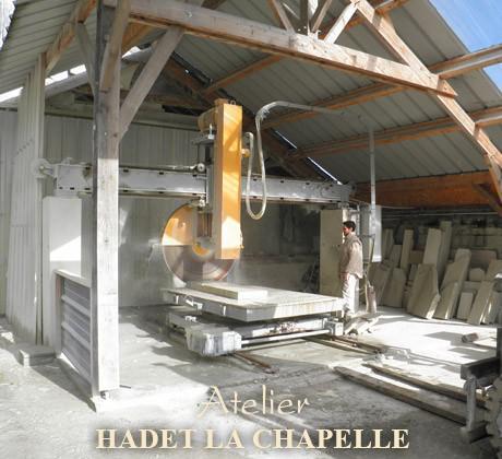 Taille pierre Hadet la Chapelle