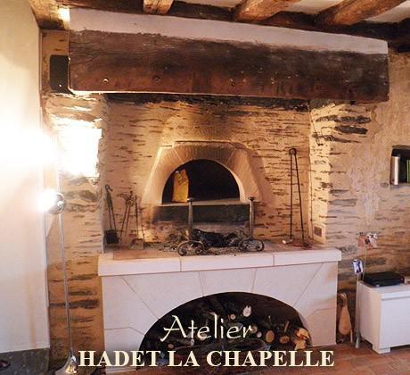Restauration de cheminée Angers