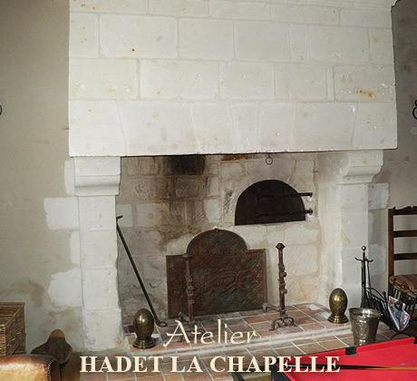 Restauration cheminée 49