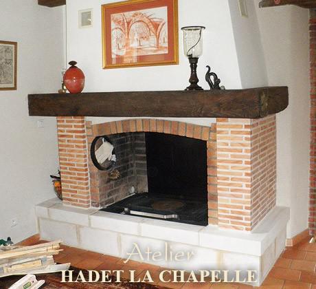 Restauration de cheminée