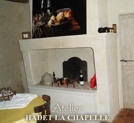 Restaurer cheminée en pierre Angers